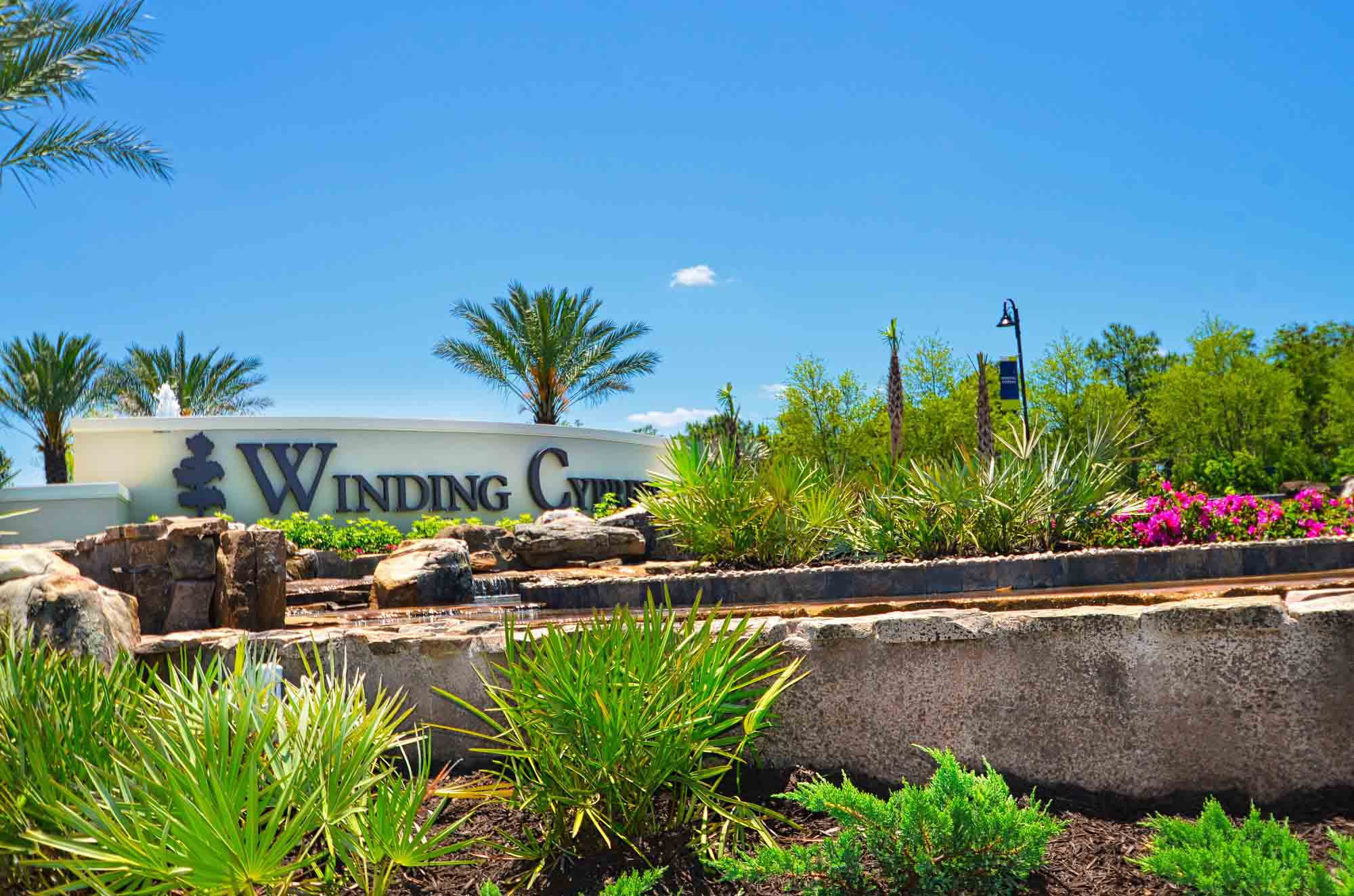 New Community of Winding Cypress