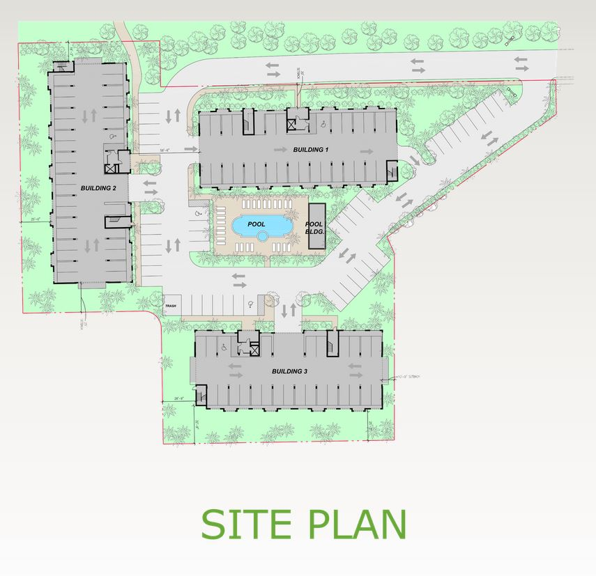 Site plan for Botanika at Bonita Fairways - Bonita Springs, FL